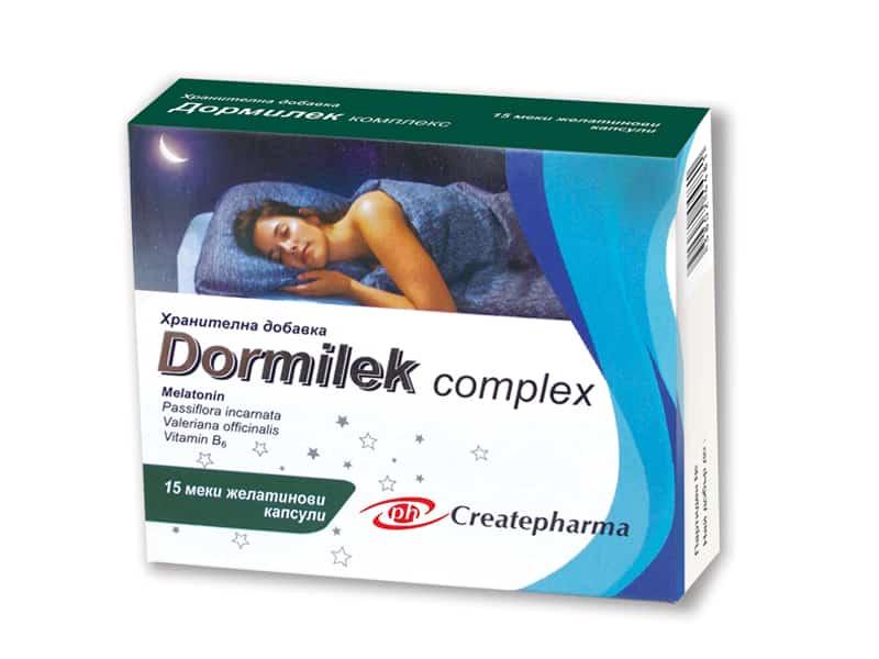 Dormilek complex хванителна добавка за здрав сън